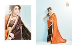 Admirable Orange and Brown Embroidered Saree. Make a grand statement with this Georgette & Silk Saree. This saree will keep you comfortable all day long. This saree is quite comfortable to wear and easy to drape as well. This saree comes with matching unstitch Blouse. #addsharesale, #saree, #sarees, #fancysaree, #wholesalesuppliers, #partywearsaree,#wholesalesaler, #onlinesaree Any Query:  Call Us: +91-834-772-7772 Visit Our Site : http://www.addsharesale.com/ Email : info@addsharesale.com