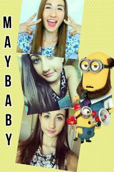 SHE IS EPIC MEG I AM IN LOPVE WITH YOU AND YOUR WORK YOU ARE THE BEST YOUTUBER IN THE WORLD AND I LOVE MINIONS TOOOOOOOOOOO