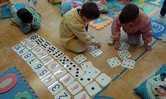 Método ABN. Números del 1 al 10: grafías, manos, dados, palillos y policubos Toddler Learning, Preschool Activities, Math For Kids, Spanish Lessons, Math Games, In Kindergarten, Childhood, Teaching, Deco