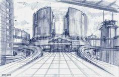 Creepy MINORITY REPORT Spider Robot Concept Designs by Mark Goerner « Film Sketchr