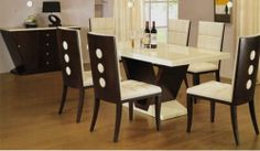 Just like when you are going to organize another room and buy cheap dining table sets, there are some specific characteristics you should look for when buying a dining table.