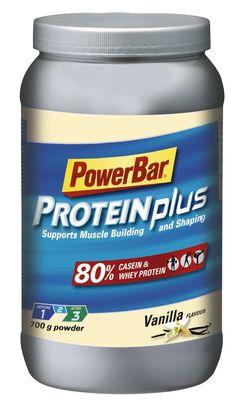 Goede #sportvoeding bouwt een gezond lichaam. Neem #Powerbar #Protein Plus 80 % #shake voor het betere #spieropbouw.