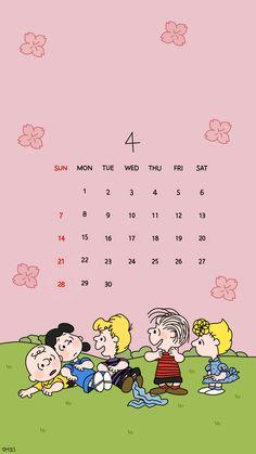 아이폰 스누피 4월 배경화면 : 네이버 블로그 Iphone Background Wallpaper, Tumblr Wallpaper, Lock Screen Wallpaper, Calendar Wallpaper, Print Calendar, Snoopy Wallpaper, Cartoon Wallpaper, Sailor Moon Background, Cute Lockscreens