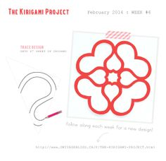The kirigami project from Omiyage Blogs. With 4-point and 6-point folding instructions and 8 different templates. Nice gift or card embellishments.