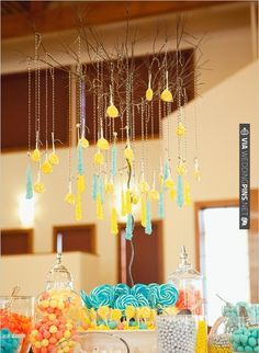 candy table | CHECK OUT MORE IDEAS AT WEDDINGPINS.NET | #weddingcakes