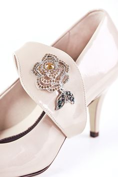 ebd999f6d5bb Shoes by Shaherazad Time to bloom Blooming Rose