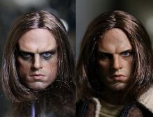 """1:6 scale male Figure Captain America Winter Soldier Bucky Barnes head shape for 12"""" Action figure doll,not include body;clothes //Price: $US $48.00 & Up to 18% Cashback on Orders. //     #homedecor"""