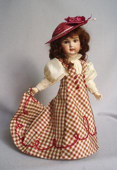 Bleuette LSDS 1908 Robe de Mariee, stitched by House-of-Bleus