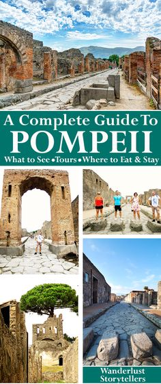 An 'All you Need to Know' travel guide for your visit to Pompeii in Italy!  What to see, where to eat, tours to take, where to stay and how to get there! >>>>>>>>>>>>>>>>>>>>>>>>>>>>>>>>>>> Visit Pompeii Italy | Pompeii Ruins | Pompeii Volcano | Pompeii Brothel | Pompeii Travel | Pompeii Mt Vesuvius | Pompeii Activities