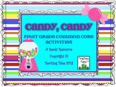 Students will love this sweet-themed resource that is aligned to the Common Core Standards!  There are plenty of activities for reading and math th...
