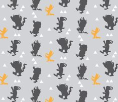 Swaddle Blanket Where the Wild Things Are. by SuiteBaby on Etsy