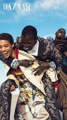 Gucci, April Cover,