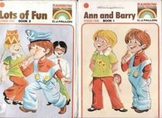Ann and Barry, primary school books. Remember the Tara and Kevin books? 80s Kids, My Youth, My Childhood Memories, The Good Old Days, Primary School, School Days, Growing Up, Irish, Nostalgia