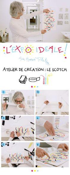Dementia Activities, Rainy Day Activities, Montessori Art, Scotch Tape, Ecole Art, Herve, Expo, Teacher Hacks, Baby Crafts