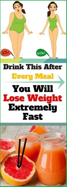 Drink This After Every Meal – You Will Lose Weight Extremely Fast – Fitness Blog