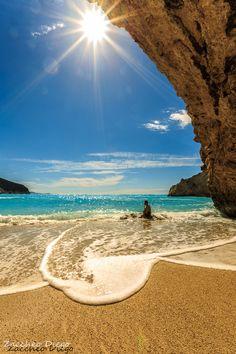 Grecia+-+Porto+katsiki+sull'+isola+di+Lefkada+in+Grecia