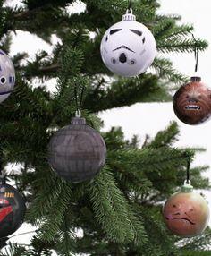 Star Wars tree baubles