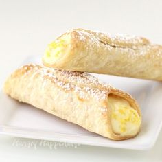 With each bite of a Lemon Meringue Pie Cannoli you'll enjoy the crispy crunch of flaky pie crust and a pop of tart lemon flavor balanced with the sweetness