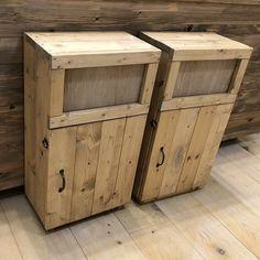 おしゃれなカフェ風ゴミ箱の作り方。ゴミを見せないインテリアダストボックス。|LIMIA (リミア) Barn Wood Crafts, Wooden Crafts, Diy And Crafts, Diy Interior, Boutique Interior, Wooden Words, Furniture Fix, Wood Carving Tools, Diy Holz