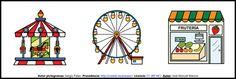 Clasificación de palabras: 3 elementos, nivel fácil. Lámina 9 http://informaticaparaeducacionespecial.blogspot.com.es/2009/05/clasificacion-de-palabras-3-elementos_20.html