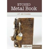 Etched Metal Book with Jen Crossley | InterweaveStore.com