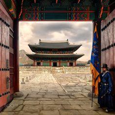 Gyeongbokgung Palace, South Korea, Seoul - been here seen that South Korea Seoul, South Korea Travel, Indian Palace, South Corea, South Korea Photography, Seoul Photography, Copacabana Palace, Buckingham Palace, Temples