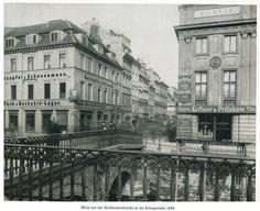 Königsstrasse und Kurfuerstenbruecke blick Denkmal Elector Wilhelm.. 1889