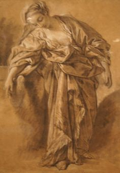 """""""Study of a Young Woman..."""" by Boucher"""