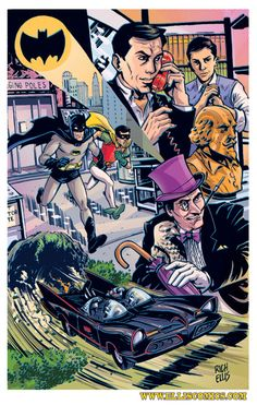 Rich Ellis takes the Batman '66 characters out for a spin!