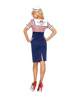 Sexy sailor captain costume electric boutique