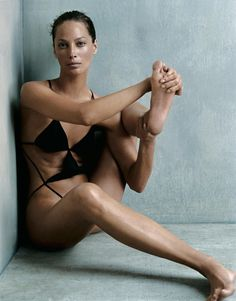 Exercise can be expensive and exclusive—but not at Shaktibarre, Brooklyn's newest, warm-and-fuzziest wellness sanctuary. Christy Turlington Burns photographed by Steven Klein, Vogue, October 2002.