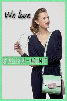 Green-mint!! Uno de nuestros nuevos colores de verano. Nos encanta! Diseña el tuyo en CollectionByYou