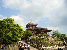 Kyoto Kiyomizu-dera Temple.