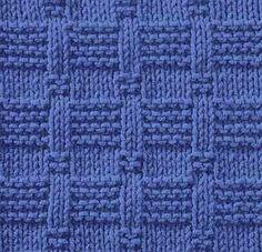 Knitting Galore: Saturday Stitch: Tile Stitch dianne-jones.blogspot.com