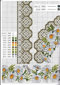 Thrilling Designing Your Own Cross Stitch Embroidery Patterns Ideas. Exhilarating Designing Your Own Cross Stitch Embroidery Patterns Ideas. 123 Cross Stitch, Cross Stitch Borders, Cross Stitch Flowers, Cross Stitch Charts, Cross Stitch Designs, Cross Stitching, Cross Stitch Patterns, Dmc Embroidery Floss, Cross Stitch Embroidery
