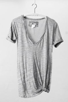 Minimal + Chic | @codeplusform          Always room for another grey T!