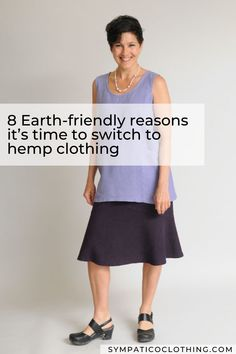 Among all the fiber choices available today, hemp wins on sustainability by a mile! Learn 8 reasons to choose hemp clothing on the Sympatico blog. Ethical Clothing, Ethical Fashion, Sustainable Clothing, Colourful Outfits, Timeless Fashion, Hemp, Organic Cotton, Women Wear, Fashion Outfits