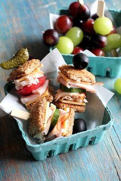 make healthy kids' lunches on skewers