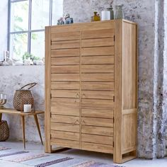 Minimalys Teak Double Cupboard 160
