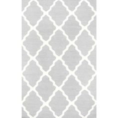 Trellis Light Grey 2 ft. x 3 ft. Accent Rug