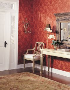 Wallpaper Inn Store - Red Traditional , R599,95 (http://shop.wallpaperinn.co.za/red-traditional/)