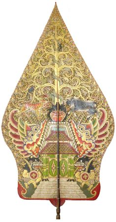 Wayang Kulit Java Tree of life