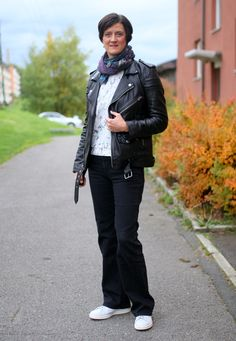Tall Girl's Fashion // Casual Leather