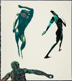 Leon Golub, Dancing Men