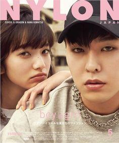 Big Bang G-Dragon and Nana Komatsu - Nylon Magazine May Issue '16