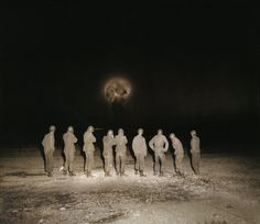 Soldiers witness an atomic explosion during Exercise Desert Rock VIII at the Nevada Test Site in Nuclear Bomb, Nuclear War, Nevada Test Site, Weapon Of Mass Destruction, Atomic Age, Hiroshima, Art Deco Design, Cold War, World History