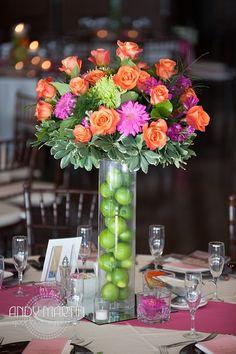 Tropical Wedding Centerpieces #weddingcenterpieces #weddingflowers #wedding