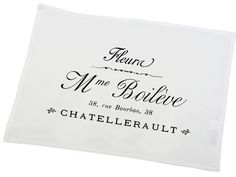 Set of 2 table mats - Madame - French Home