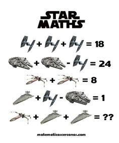 Star Maths... Star Wars Day