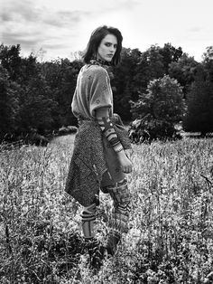 visual optimism; fashion editorials, shows, campaigns & more!: la balade sauvage: sarah brannon by victor demarchelier for numéro #166 august 2015